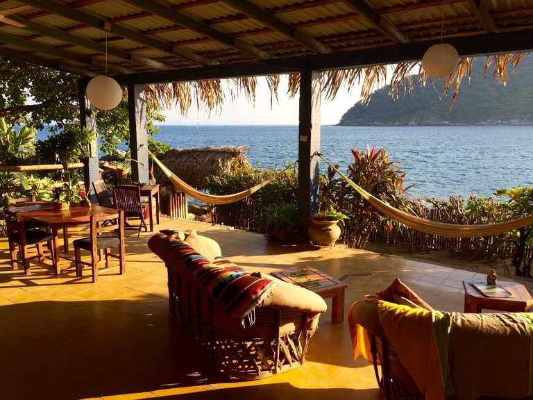 The terrace at El Jardin | Courtesy of El Jardin