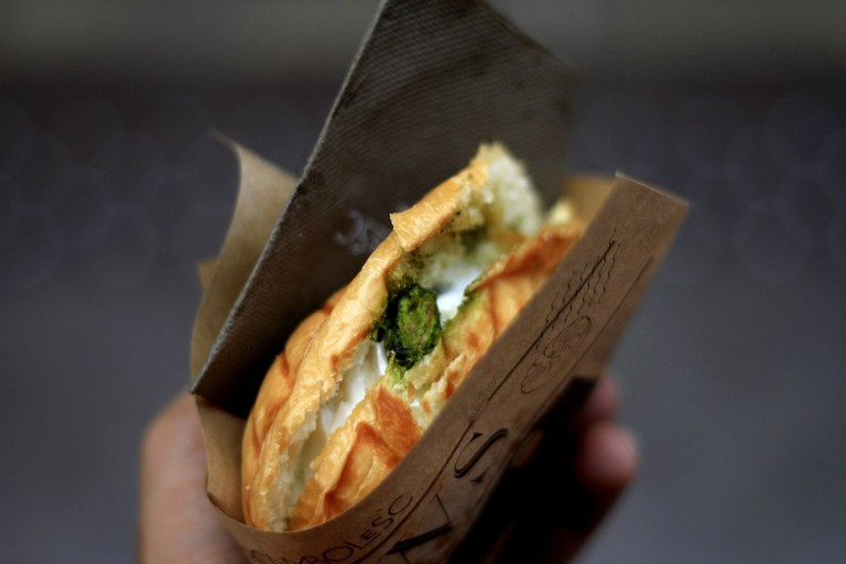 Sandwich wrapped in brown paper │© Unsplash / Pixabay