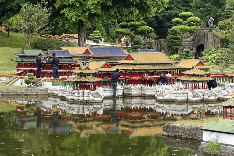 Shenzhen Splendid China Folk Village theme park| © Maxfromhell/Shutterstock