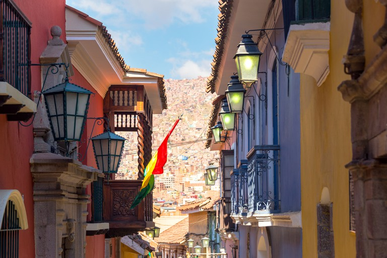 The colonial architecture of Calle Jaén © Jess Kraft/Shutterstock