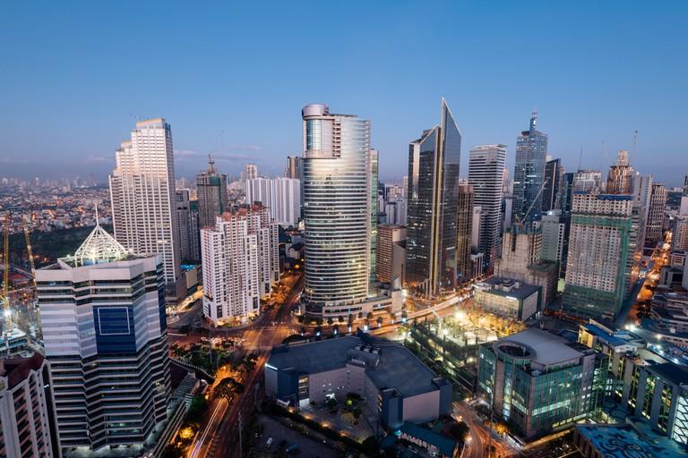 Makati Skyline at night   © r.nagy/Shutterstock