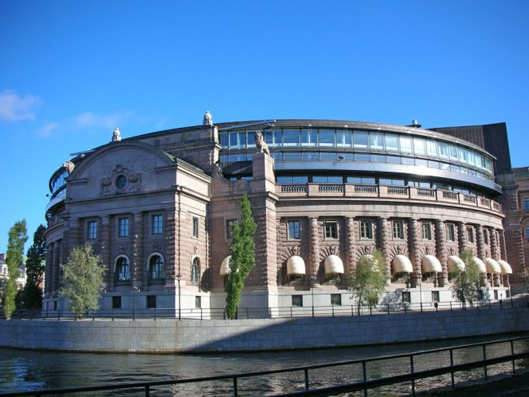 Sweden's Parliament | ©Olof Senestam/Flickr