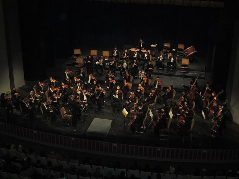 Tehran Symphony Orchestra at Vahdat Hall | © MRG90 / Flickr
