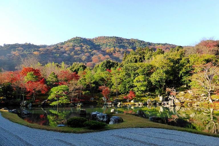 Garden at Tenryu-ji Temple