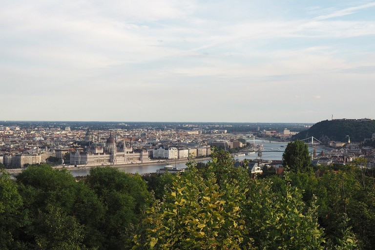 Rózsadomb hill view