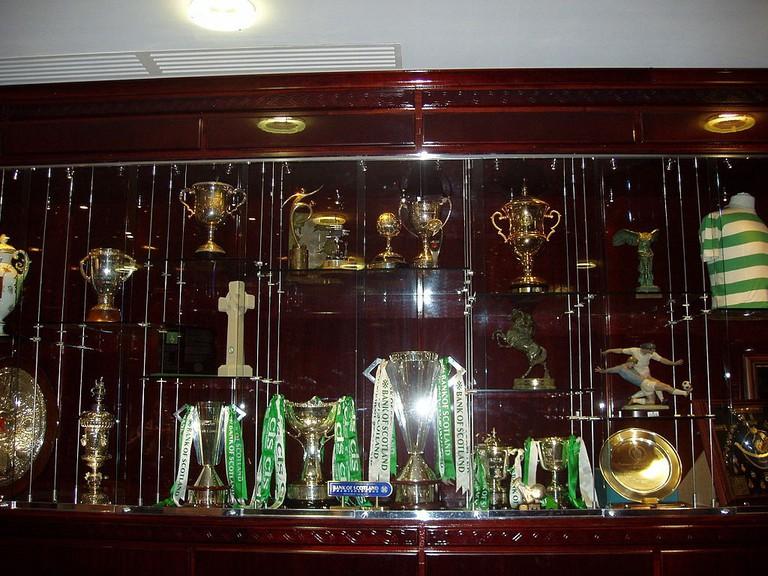 Celtic FC Trophy Case | © WikiCommons