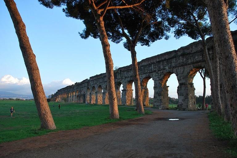 Parco degli Acquedotti | © ShockWave2/Wikicommons