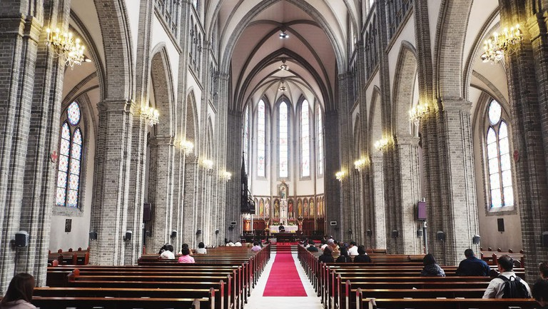 Myeongdong Cathedral in Seoul | © Yeung Ming / Flickr