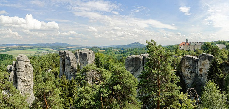 Hruba Skala view from Hruboskalsko / ©Bretislav Valek / Flickr