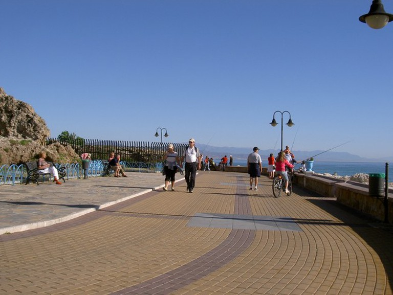 Excellent cycle paths run along coasts to the east and west of Malaga; manuelfloresv, flickr