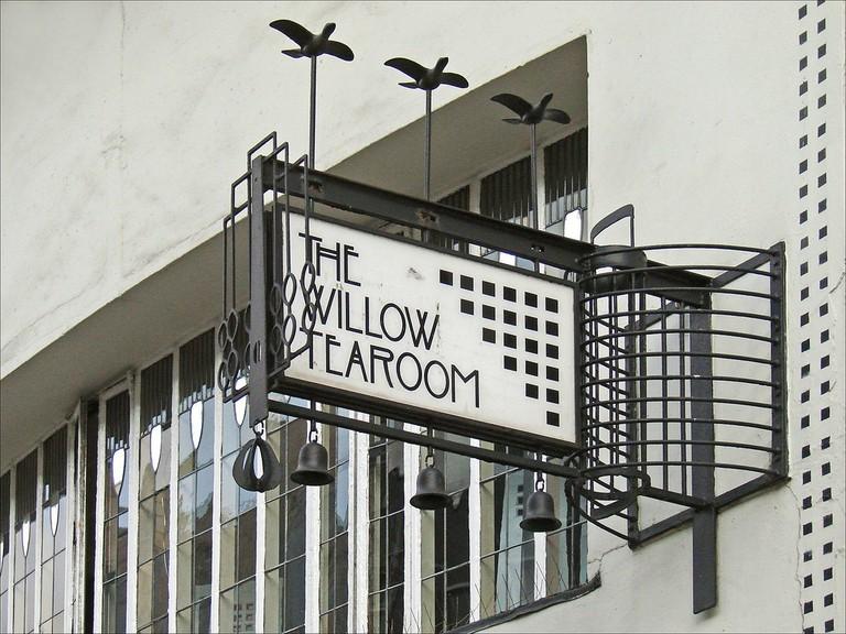Willow Tea Rooms | © Jean-Pierre Dalbéra/Flickr
