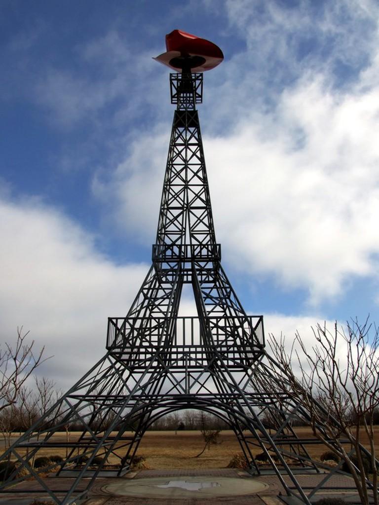 Eiffel Tower in Paris, Texas © Joseph Novak