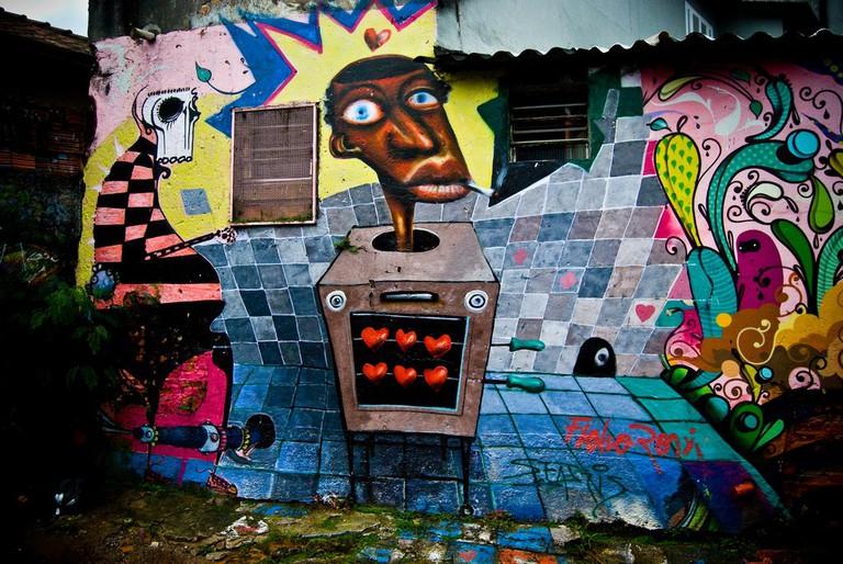 Vila Madalena Graffiti Streets | © Derek Mead/Flickr
