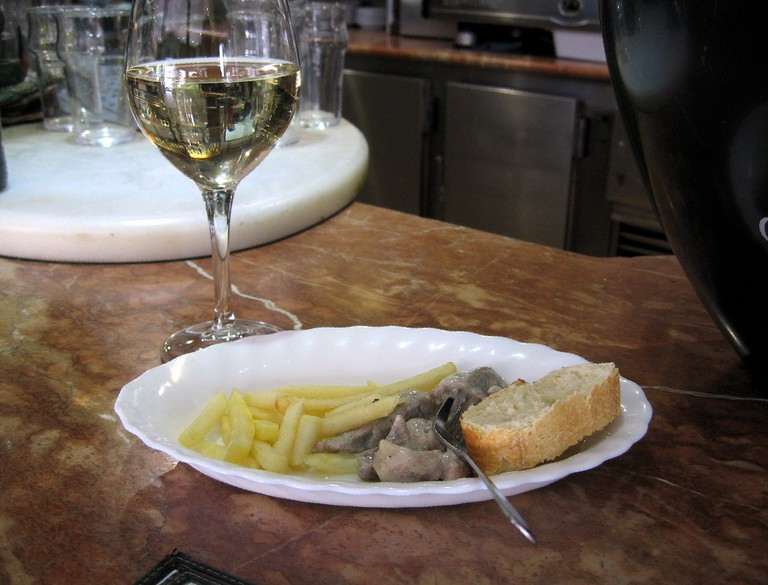 La Fragua offers possibly the cheapest glass of wine in all of Granada