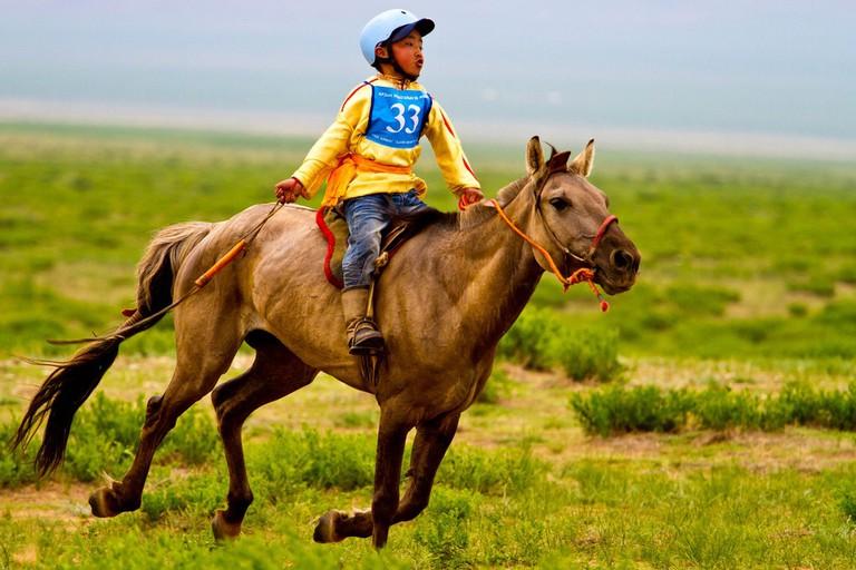 Naadam Horse Race| © Paulo Fassina/Flickr