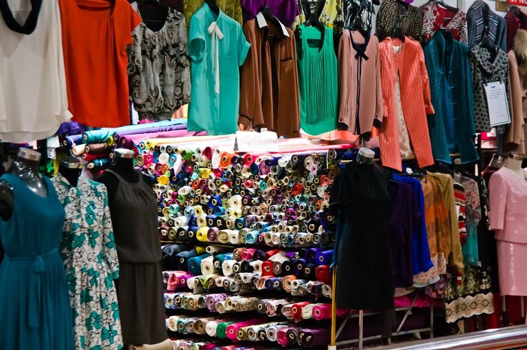 South Bund Fabric Market | ©Mitch Altman/Flickr