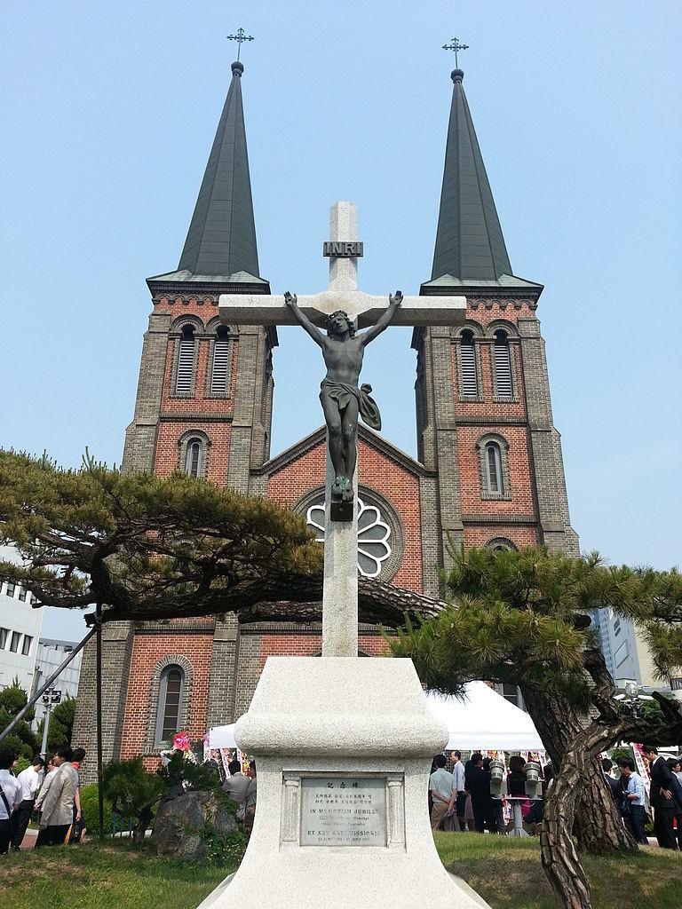 Gyesan Catholic Church in Daegu