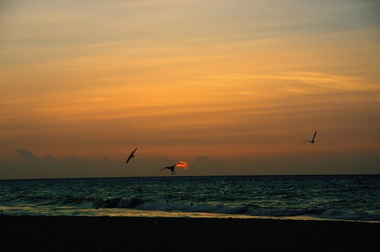 Sunset over Playa Del Carmen©KSI Photography/Flickr