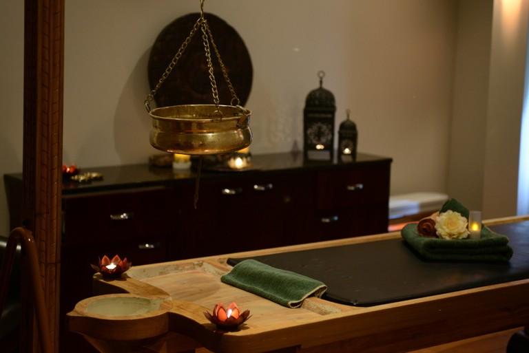 Spa Ayurda Massage Table | © Courtesy of Spa Ayurda