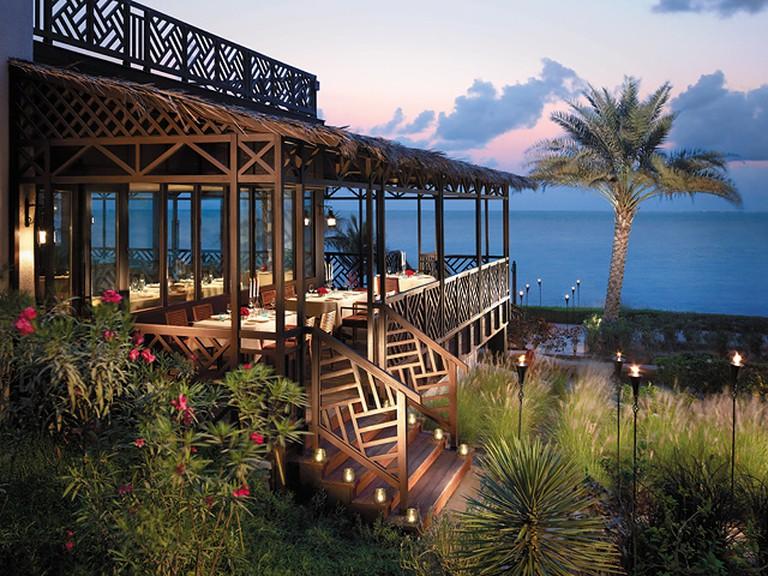 Bait Al Bahar Seafood Resturant at Shangri-La Barr Al Jissah, Muscat