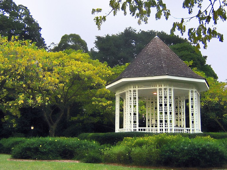 Bandstand at the Singapore Botanic Gardens