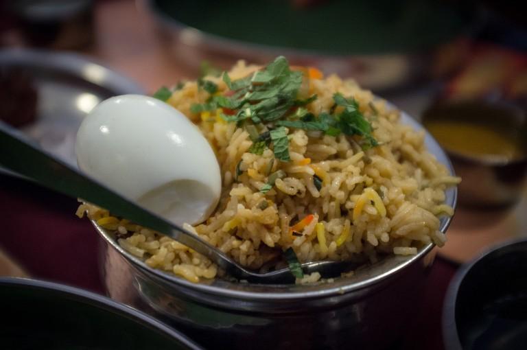 Enjoy a classic indian dish the Biriyani. |©Indi Samarajiva/flickr