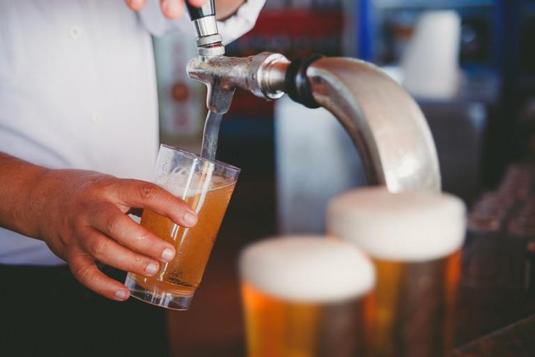 Draft Beer   © Aliaksei Smalenski/Shutterstock