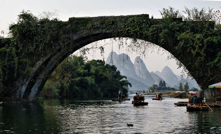 Dragon Bridge - Yulong River Guilin