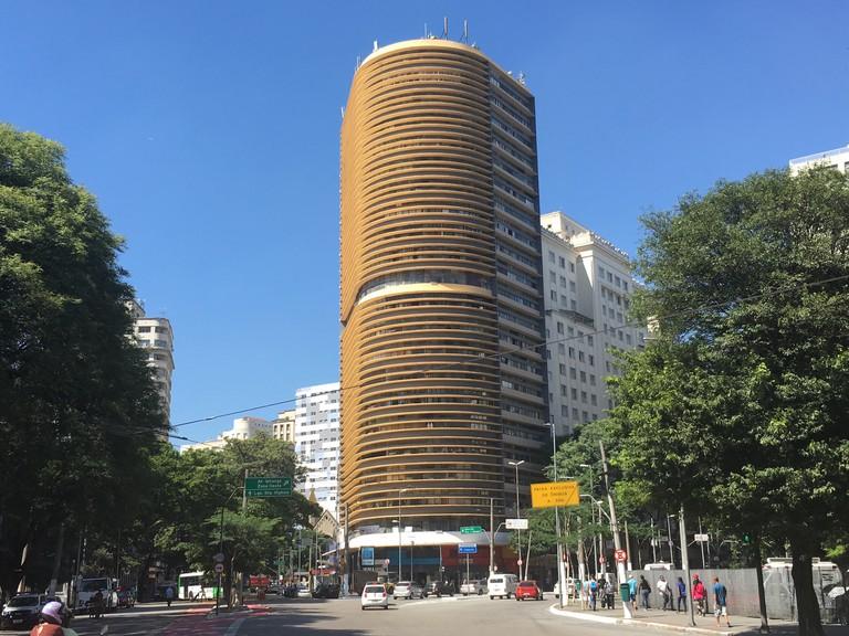 Edificio Montreal designed by Oscar Niemeyer