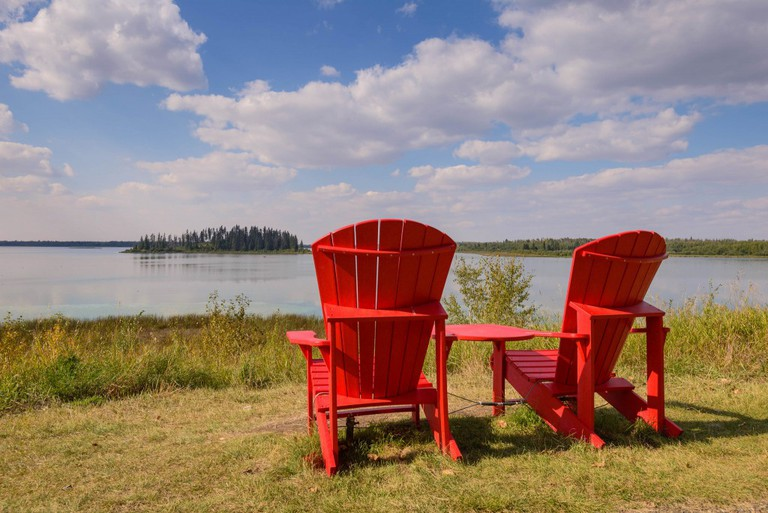 Resting in Elk Island National Park | © Michael / Flickr