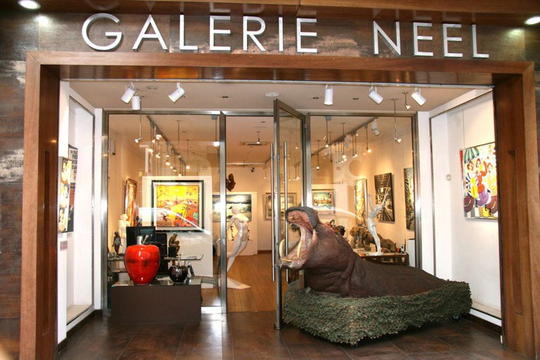 The Galerie Neel, Cannes   © Courtesy of Galerie Neel