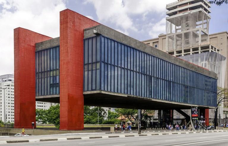 MASP in Bela Vista neighborhood, São Paulo © The Photographer/ Wikimedia, CC