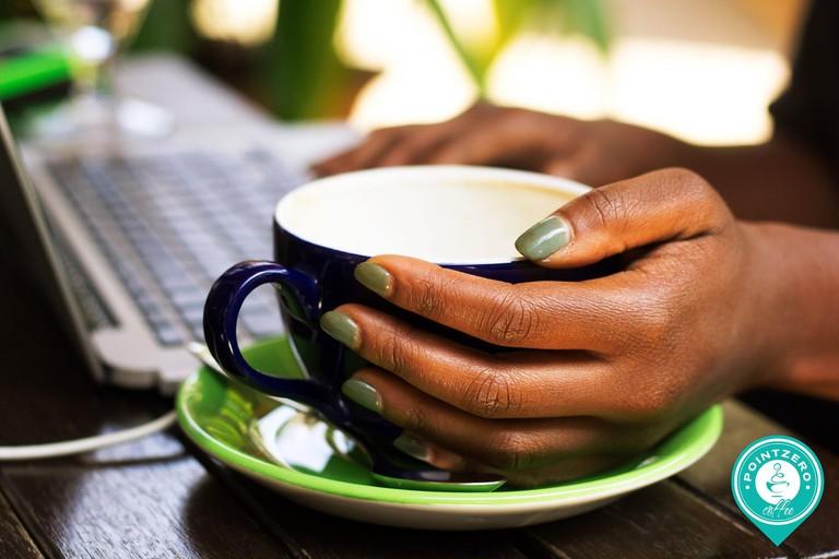 Point Zero cafe in Nairobi