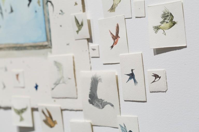 Birds by Renata Cruz | © Blanca Soto Arte