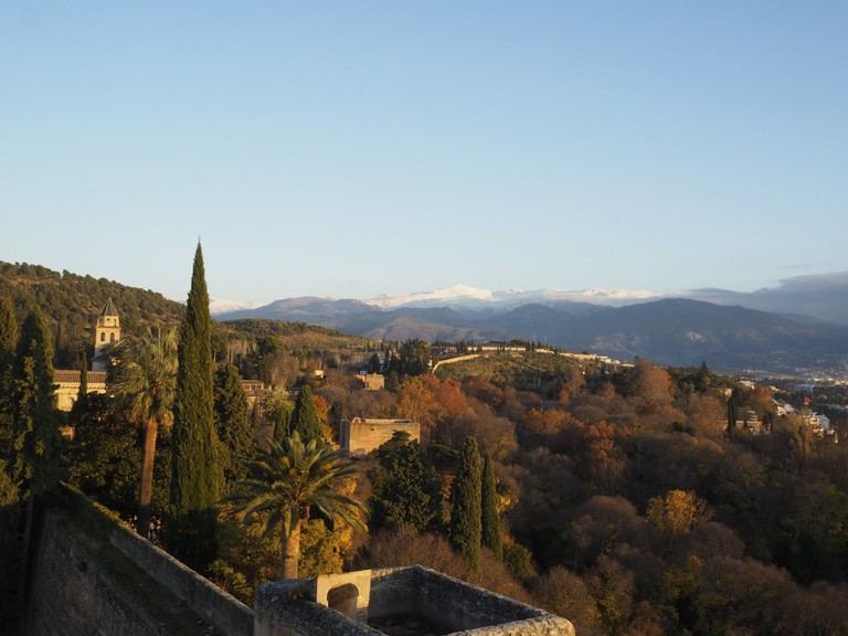 Incredible panoramic views from the towers of the Alhambra; courtesy of Encarni Novillo