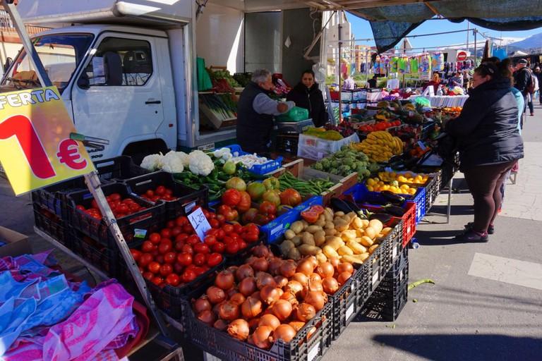 La Chana market, Granada; courtesy of Encarni Novillo