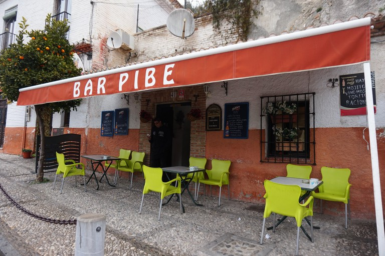 "Bar Pibe on the busiest tourist street in Sacromonte does well to retain its ""local"" feel"