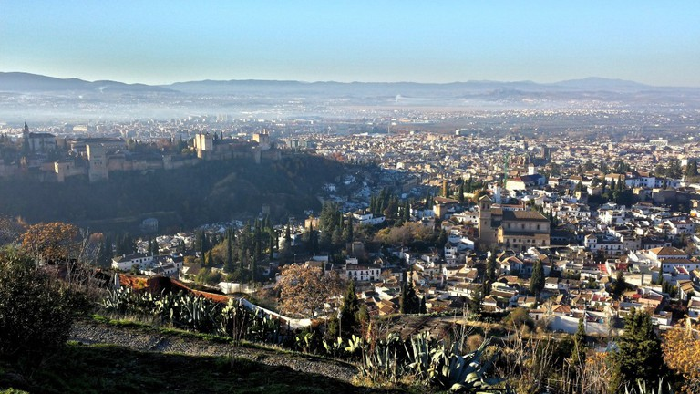 The view from San Minguel Alto; courtesy of Encarni Novillo