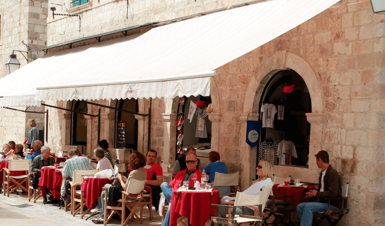 Café Festival Terrace, Dubrovnik