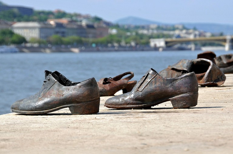 Hungary-0038 - Shoes on the Danube