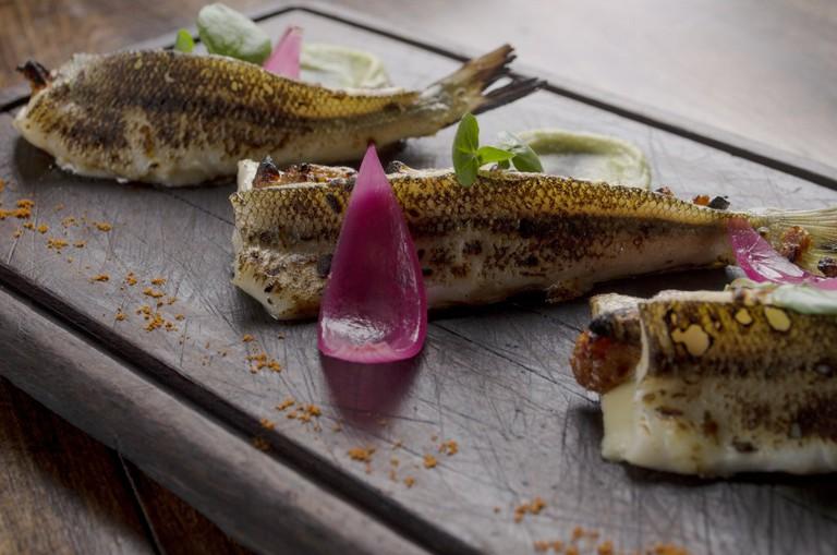 Silverside fish courtesy of Peumayen Ancestral Food