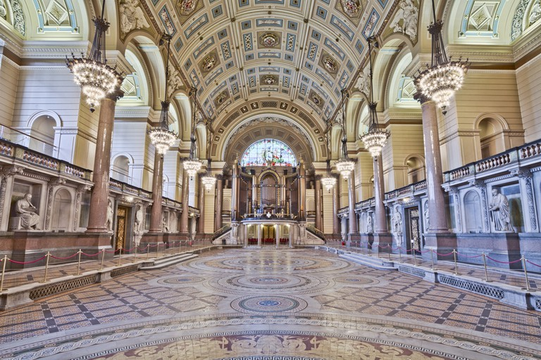 St George's Hall interior