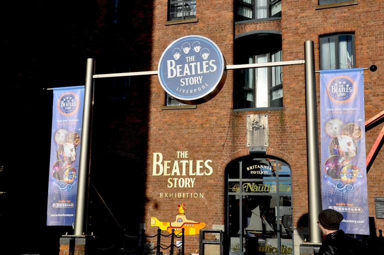 The Beatles Story, Albert Docks