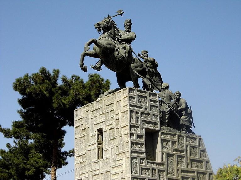 Statue of Nader Shah in Mashhad | © Nader Rajabnezhad / Wikimedia Commons