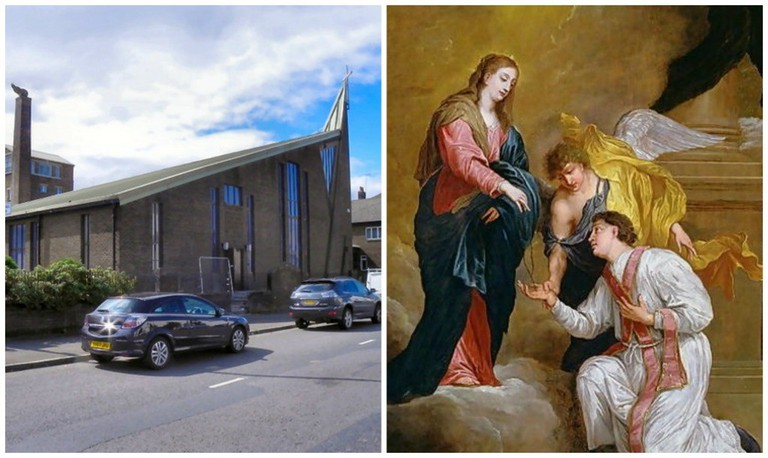 St John Duns Scotus Church | © David Dixon/Geograph // St Valentine | © WikiCommons