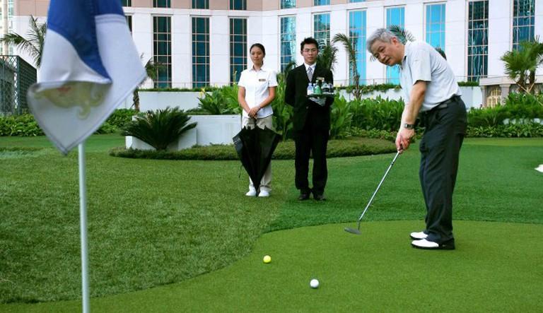 Mini golf at Venetian Macao | courtesy of Sands China