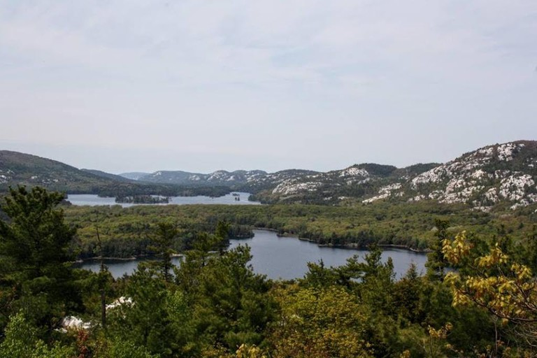 View from the Crack Trail, Killarney Provincial Park   © Laura Paskevics
