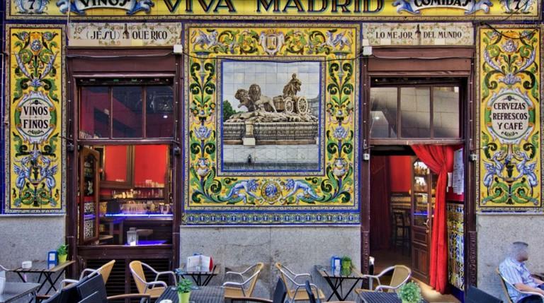 The tiled facade | © Restaurante Viva