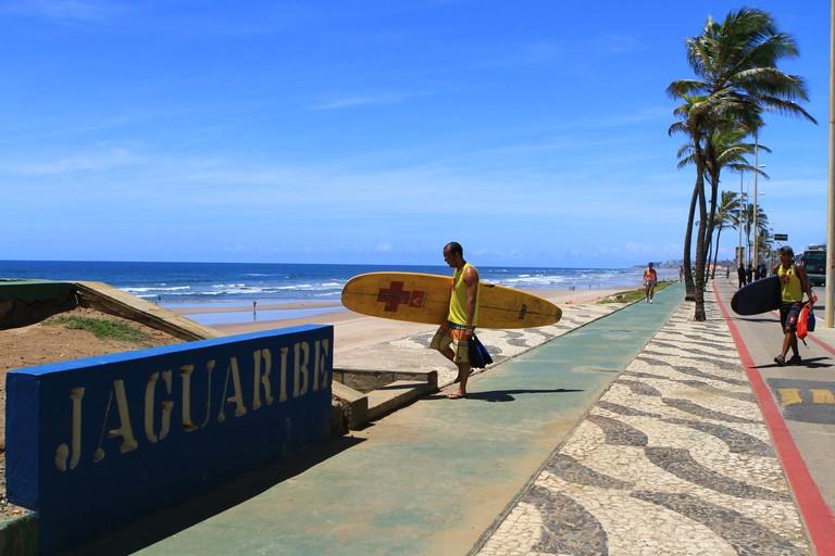 Cocoon Hotel is located nearby popular Praia de Jaguaribe