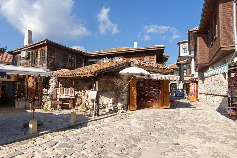 Old houses in Nessebar | © izoekriv/WikiCommons